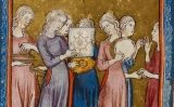 Art sefardí. Hagadà daurada, Barcelona, 1320. -  Wikimedia Commons