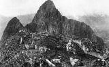 El Machu-Picchu el 1912, abans que s'excavessin les ruïnes -  Hiram Bingham III / Wikimedia commons