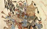 Caravana de pelegrins a Ramleh (1236-1237 dC) -  Yahyâ ibn Mahmûd al-Wâsitî / Wikimedia commons