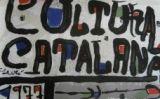 Cartell de Miró per al Congrés de Cultura Catalana