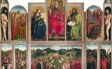 El políptic de Gant (1432), de Hubert i Jan van Eyck -  Web Gallery of Art /Jan Arkesteijn / Wikimedia commons