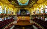 Palau de la Música Catalana -  Jiuguang-Wang. Wikimedia Commons