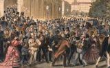 Gravat del 'Black Friday' a Viena (1873) -  Austriacus / Wikimedia Commons