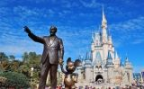 Estàtua de Walt Disney i Mickey Mouse a Disney World Orlando -  SPCE Online / Flickr