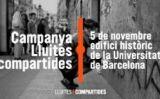 Cartell lluites compartides -  Òmnium cultural
