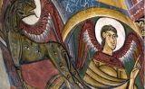 """Detall de l'àbsis de Sant Climent de Taüll<br type=""""_moz"""" /> -  Wikimedia Commons"""