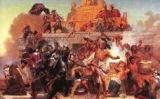 Atac de Cortés, per Emanuel Leutze -  Wikimedia Commons