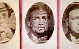 Muntatge que es va fer per demostrar que Tichborne (esquerra) i Castro (dreta) eren la mateixa persona -  Wikimedia Commons
