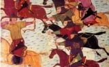 Arquers mongols a cavall