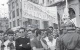 Manifestació franquista en contra del Congrés del Moviment Europeu