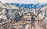 Quadre de l'exposició'Kunst aus dem Holocaust'