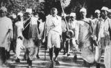 El 1930 Gandhi va encapçalar la Marxa de la Sal per la independència de l'Índia -  Yann (talk) - Wikimedia Commons