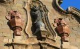 Detall de la façana de la Universitat de Cervera -  Enfo