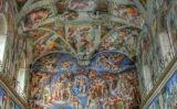 Detall de la Capella Sixtina