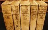 Els cinc volums del 'Giro Intorno al Mondo' de Gemelli Careri