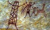 Algunes de les pintures descobertes recentment al Brasil