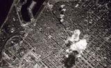 Una bomba cau sobre Barcelona l'any 1938 -  Centre d'interpretació de l'aviació republicana i la guerra aèria