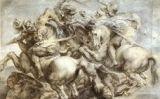 Còpia de 'La batalla d'Anghiari' de Da Vinci obra de Peter Paul Rubens.