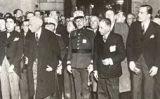 El general Batet amb Francesc Macià i Lluís Companys.