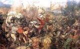 Representació de la batalla de Grunwald, a l'actual Polònia.