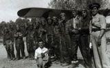 '3a Esquadrilla de Xatos' al camp dels Monjos durant la batalla de l'Ebre -  ADAR – Antonio Nieto Sandoval
