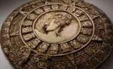 Roda amb la representació del calendari maia -