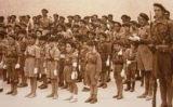 Grup de 'Pelayos', l'organització juvenil carlista.