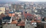 Panoràmica de la ciutat de Pristina