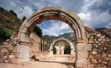 Entrada a l'antic monestir d'Escaladei -  Museu d'Història de Catalunya