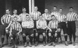 Fotografia del Sheffield FC l'any 1901