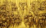 Relleu de la visita de la reina de Saba al rei Salomó