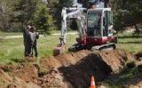 Un moment de l'excavació