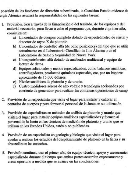 Segona pàgina de la Carta de la Comissió de l'Energia Atòmica