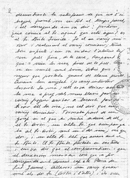 La carta de Josep Raventós