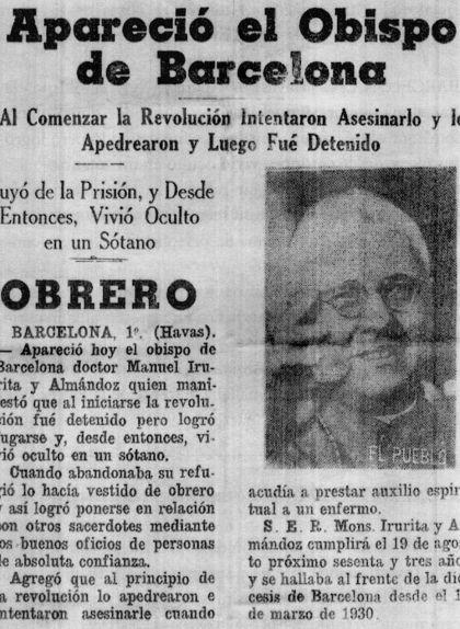 Retall del diari argentí La Nación
