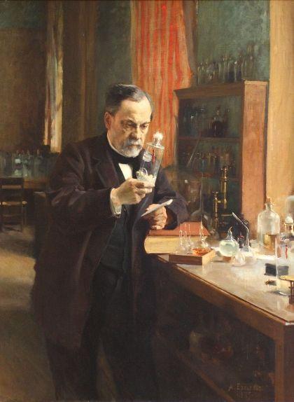 Louis Pasteur per Albert Edelfelt