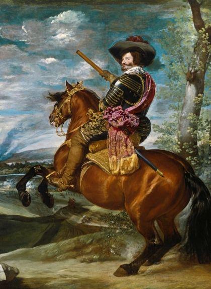 Retrat del comte duc d'Olivares fet per Diego Velázquez