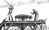 Escena de la tortura de la roda