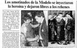 """Notícia de 'La Vanguardia' sobre el motí d'""""el Vaquilla"""""""
