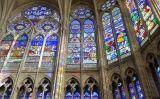Vitralls de la Basílica de Saint-Denis