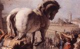 'L'entrada del cavall de Troia', de Giovanni Domenico Tiepolo