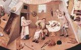 La gola, una de les seccions de la taula dels pecats de Hieronymus Bosch