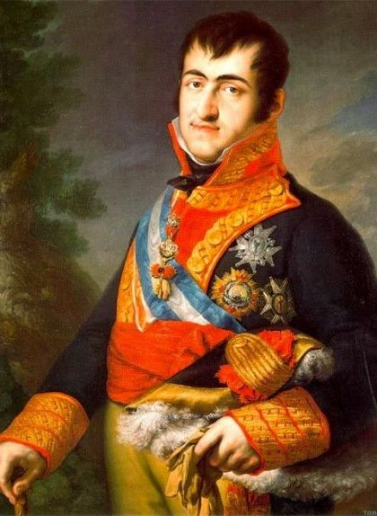 Retrat de Ferran VII -  Wikimedia Commons