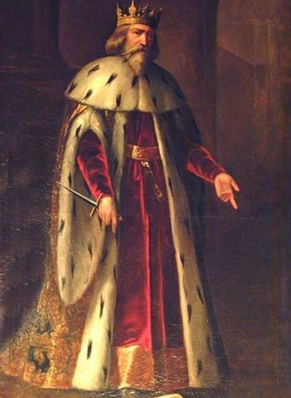 Retrat de Pere III el Cerimoniós de Manuel Aguirre i Monsalve -  Wikimedia Commons