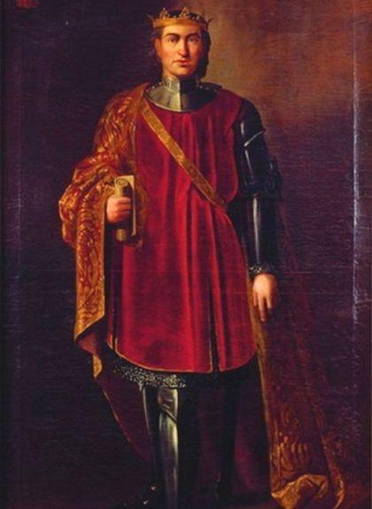 Retrat de Jaume II el Just de Manuel Aguirre i Monsalve