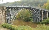El pont d'Iron Bridge