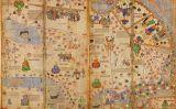 Atles català: mapes de Delhi i de Catai