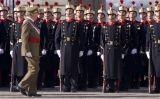 El rei Joan Carles a la Pasqua militar de 2009
