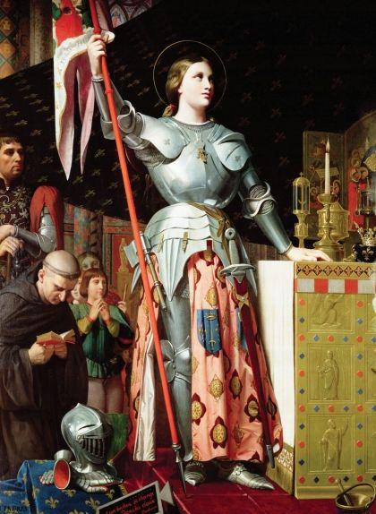 Retrat de Joana d'Arc