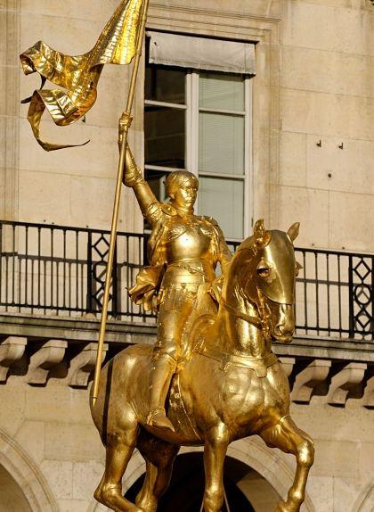 Èstatua de Joana d'Arc a París